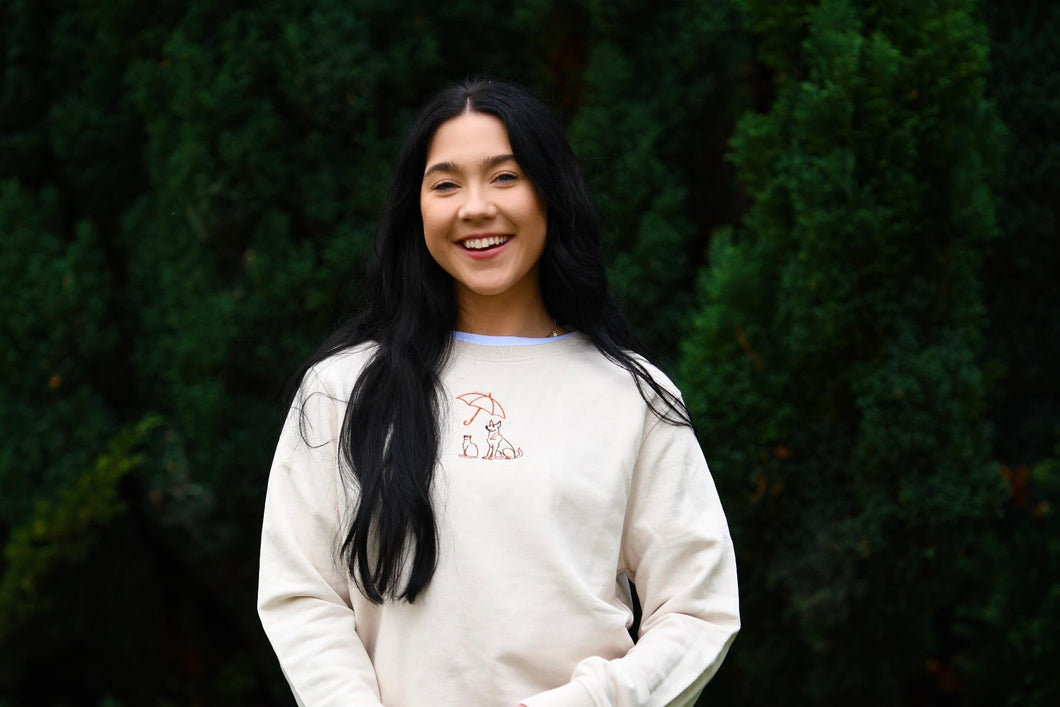 Women's Rain Rescue Sweatshirt - Off White