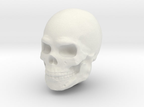 Single Skull Helmet for Sci-Fi 28mm scale miniatur 3d printed