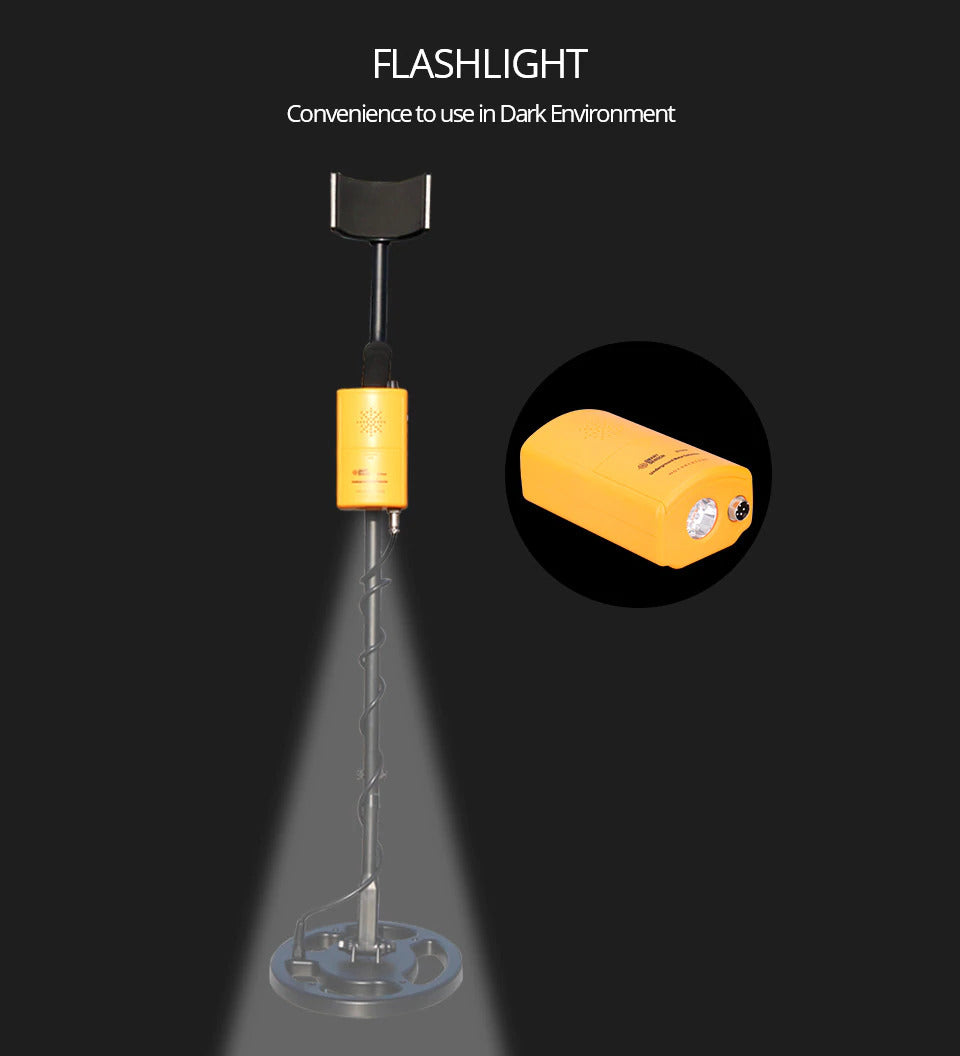 FlashLight, Convenience to use in Dark Environment