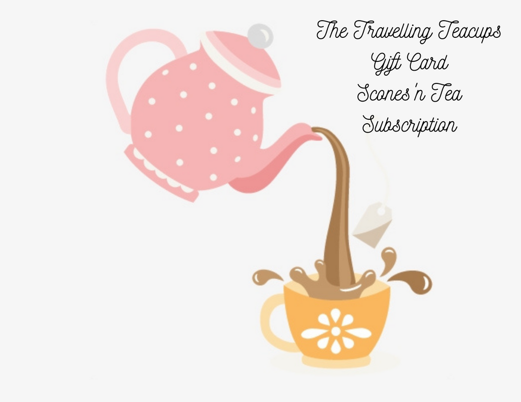 Gift Card for Scones 'n Tea Subscription