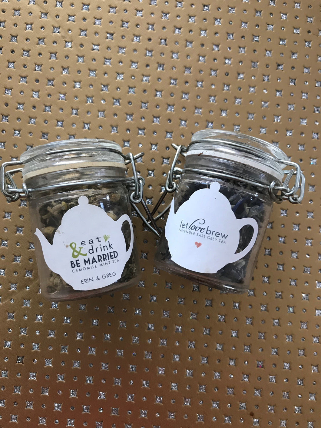 Jar of Tea Favours