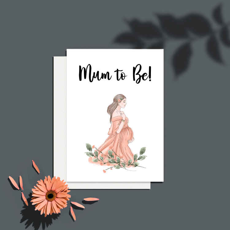 NEW!! Luxe Greeting Card - Mum to Be