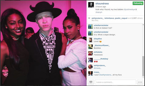 Shaun Ross IG Akuma black