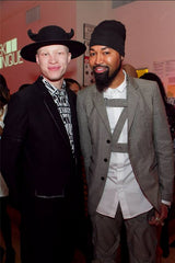 Shaun Ross in Akuma horned felt hat