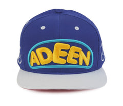 ADEEN cap blue front view