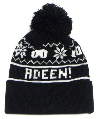 ADEEN logo knit hat (kids)