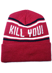 KILL YOU! knit hat