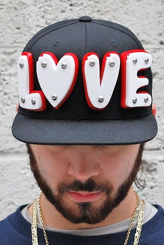 LOVE snapback (sample)