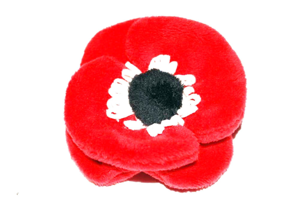 Poppy plush pin