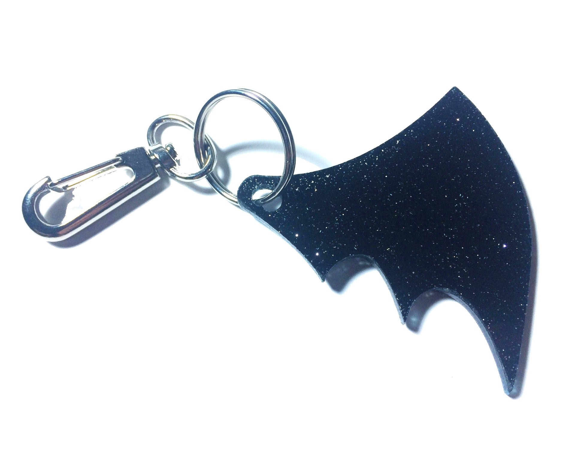 Bat wing keychain