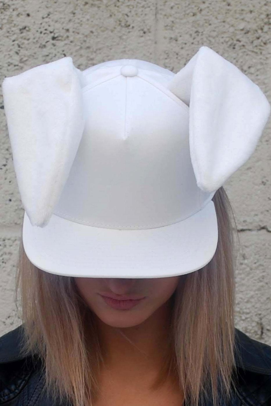 Rabbit ears snapback