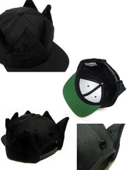 Crown snapback black