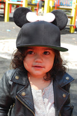 Mini bow snapback (kids)