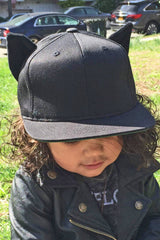 Kitty ears snapback (kids)