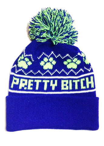 Pretty Bitch knit hat