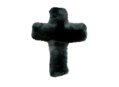 Church cross plush pin