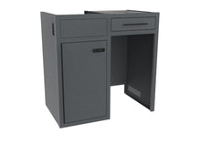 "Load image into Gallery viewer, 36"" Base Cabinet with Drawer - Fridge Cut Out"
