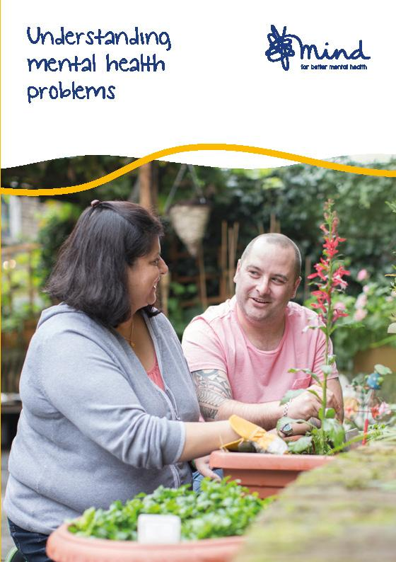 Understanding Mental Health Problems booklet