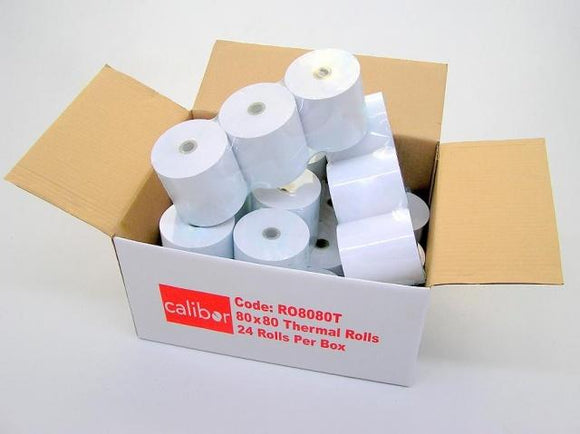Thermal Paper 80X80 24 Rolls/Box