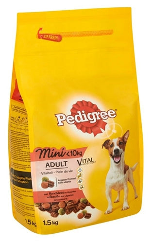 Pedigree Adult Mini Rund 1,4 KG