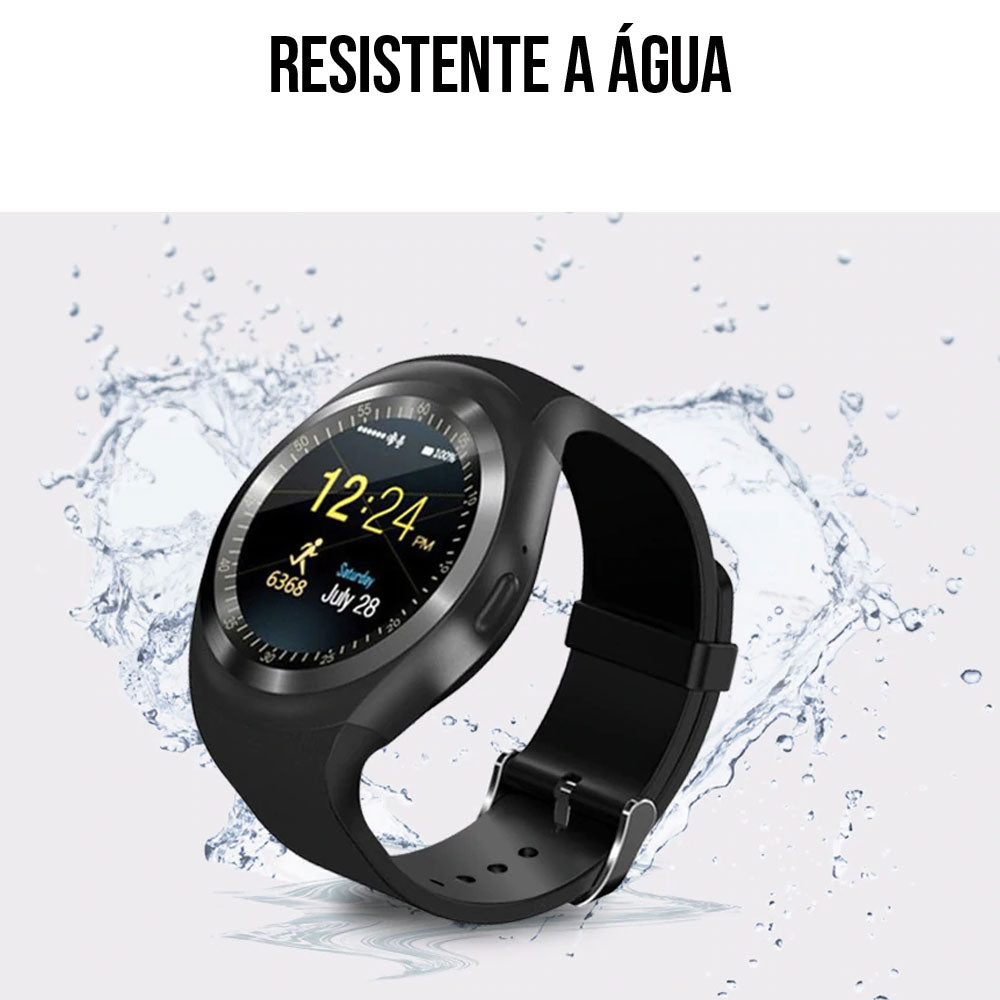 Smart Watch Y1 Resistente à Água