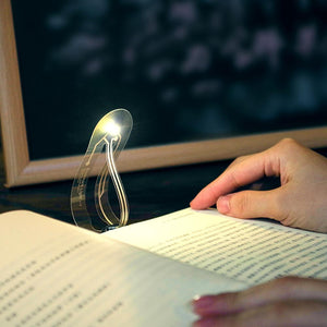 Super slim bookmark light