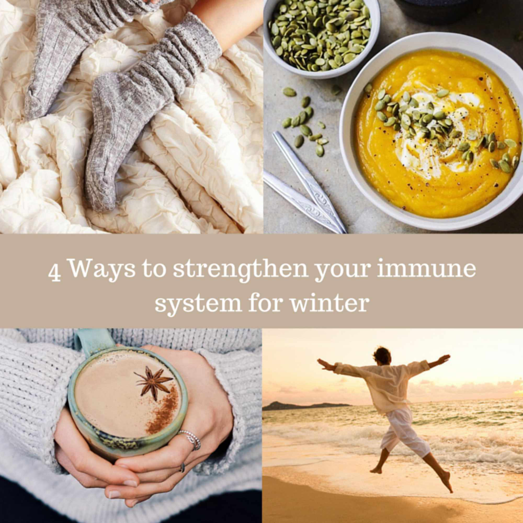 4 Ways to strengthen your immune system for winter