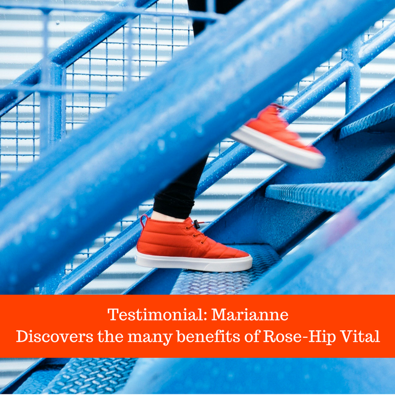 Testimonial: Marianne Discovers the Many Health Benefits of Rose-Hip Vital®