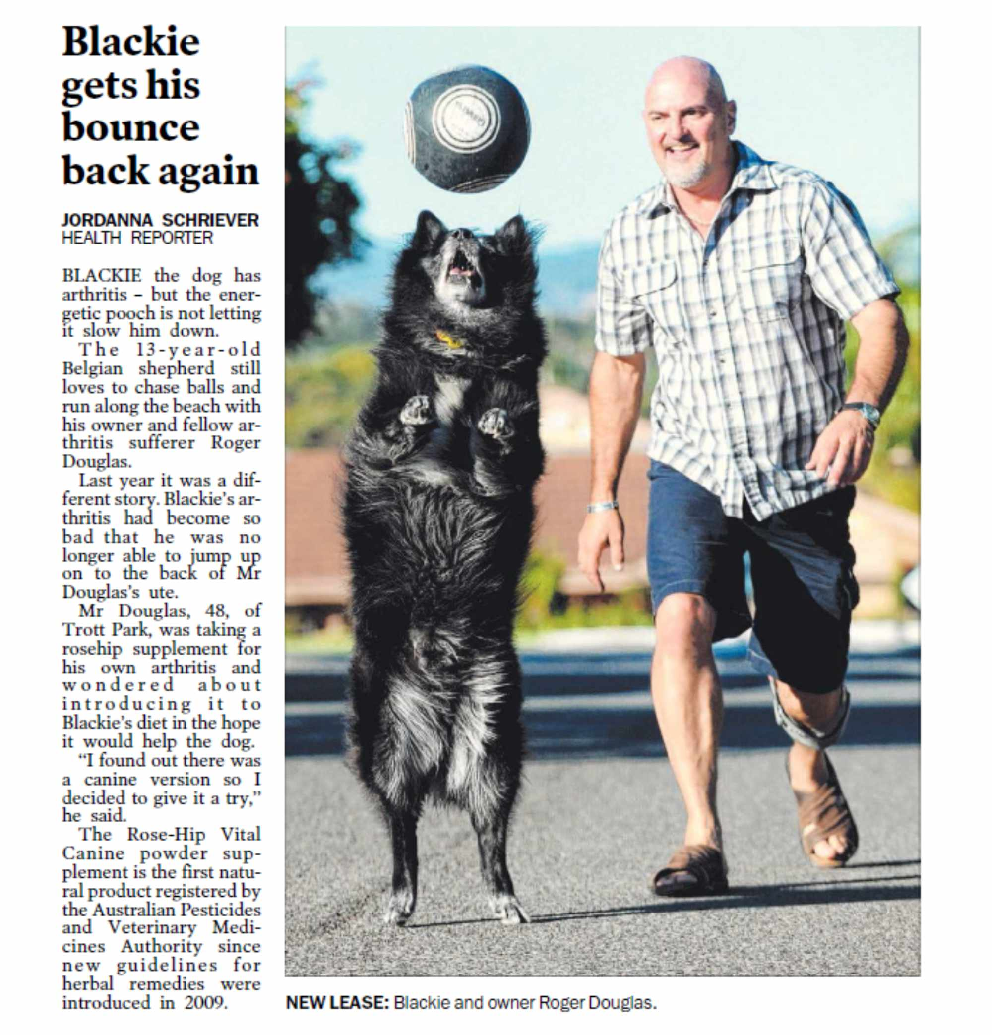 Adelaide Advertiser – news article