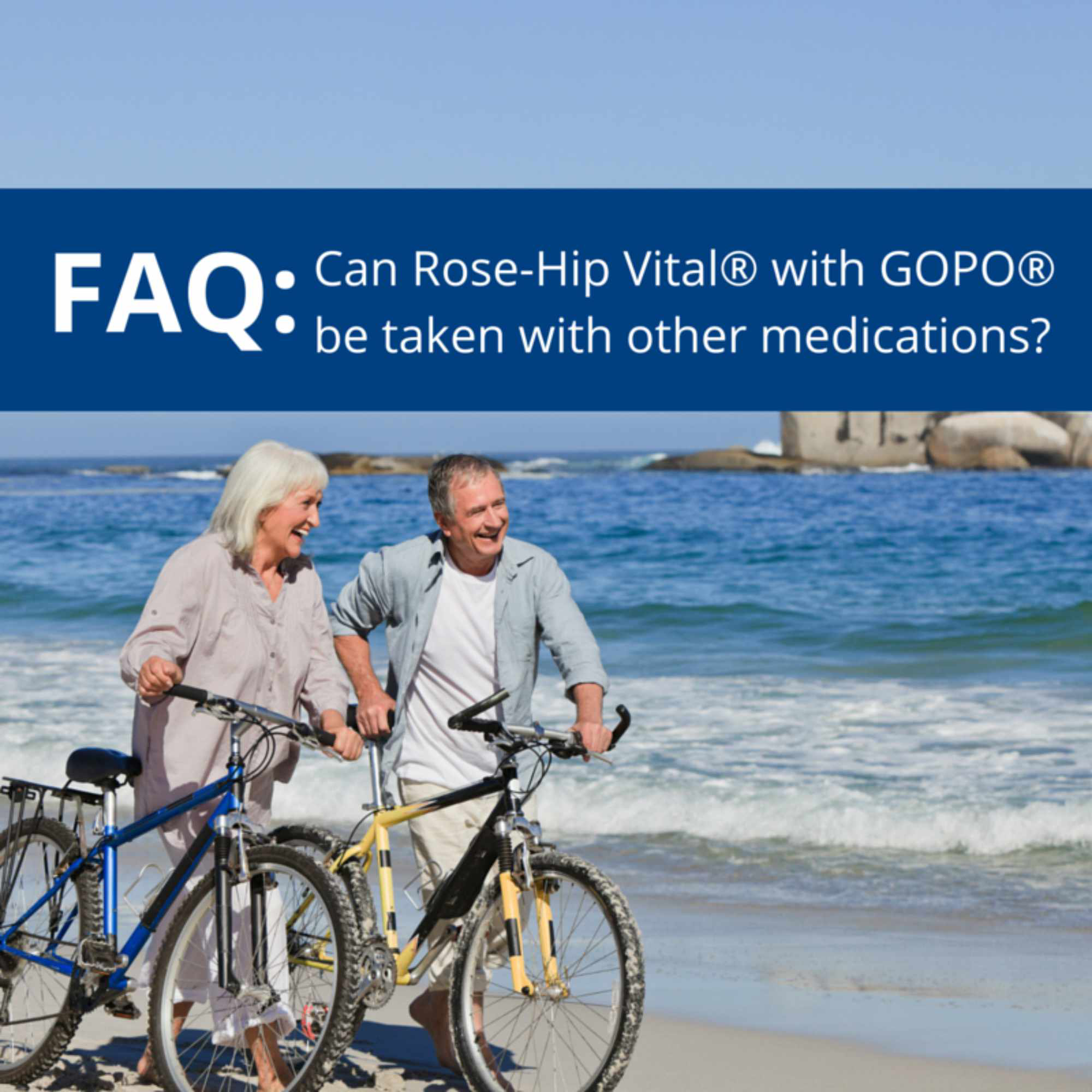 FAQ: Can Rose-Hip Vital® with GOPO® be taken with other medications and what are the side-effects?