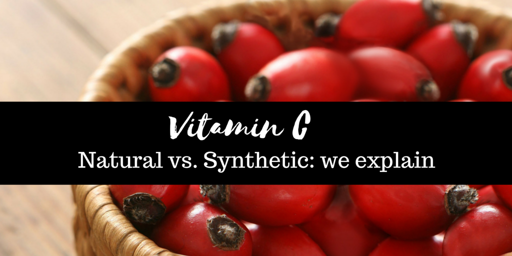 The difference beteeen natural and synthetic Vitamin C- we explain
