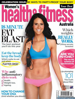 Stay at your best with Rose-Hip Vital- Women's Health and Fitness (November 2014)