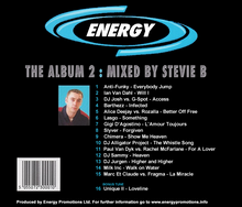 Load image into Gallery viewer, Stevie B Energy The Album 2