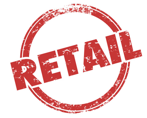 """A simple graphic of the word """"Retail"""" is shown in a circle."""