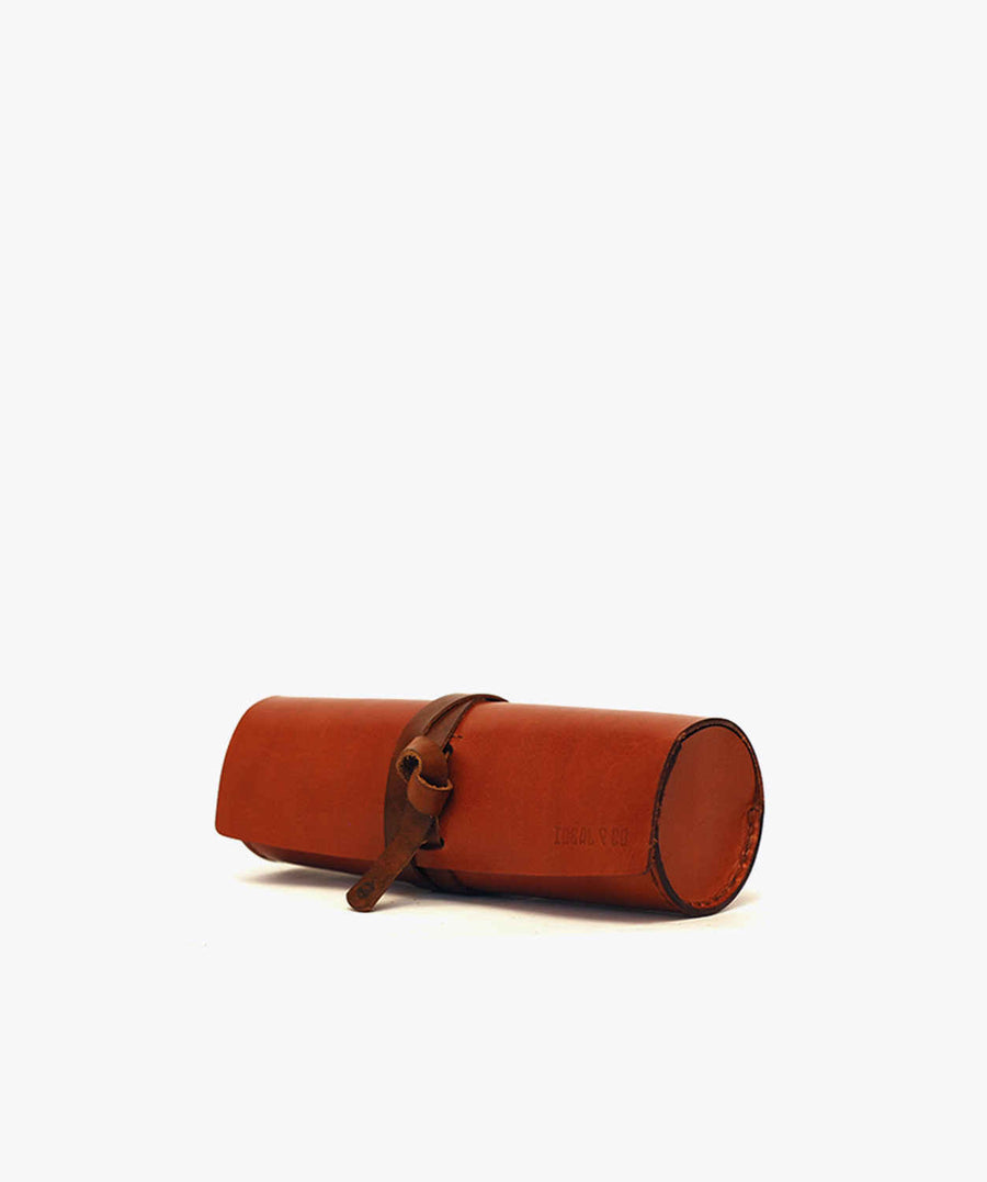 Ideal&co. leather pencil case. handmade pencil case.