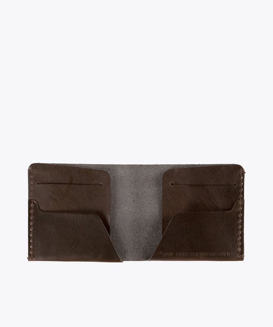 Moreira Wallet. Ideal&co. leather wallets. leather wallet handmade.