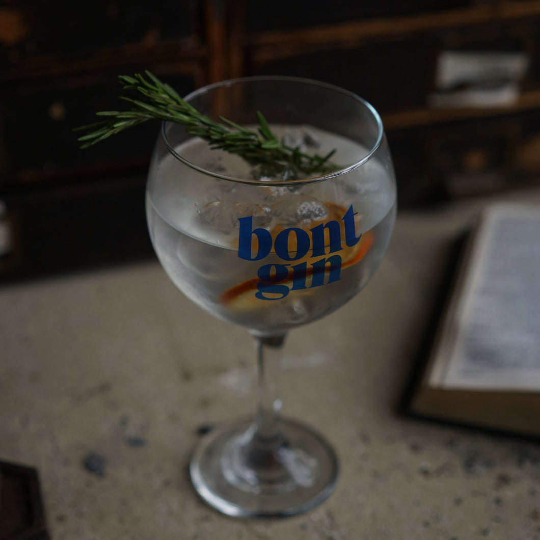 Bont Gin Balloon Glass