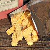 Hot Habanero Cheddar Cheese Straws