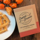 Hot Habanero Cheddar Cheese Straws*