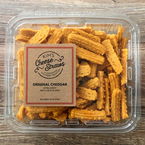 One Pound Container of Cheese Straws