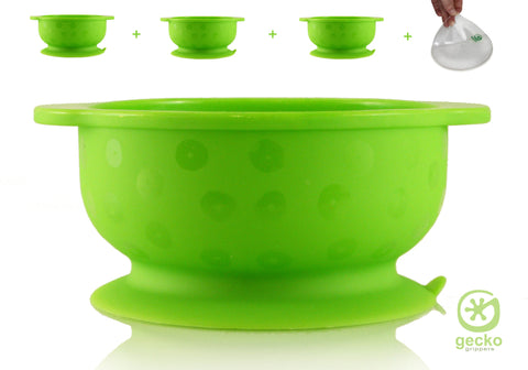 NanoGrip™ - Super Suction Bowls - 1 X Bowl PLUS FREE NanoGrip™ Gripper Mat Place Mat