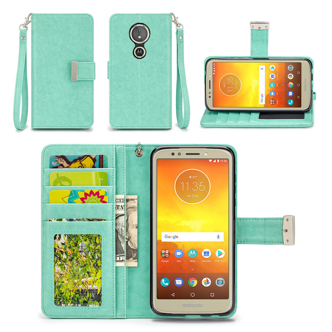 Motorola Moto E5 Play / Moto E5 Cruise Wallet Phone Case Flip Cover
