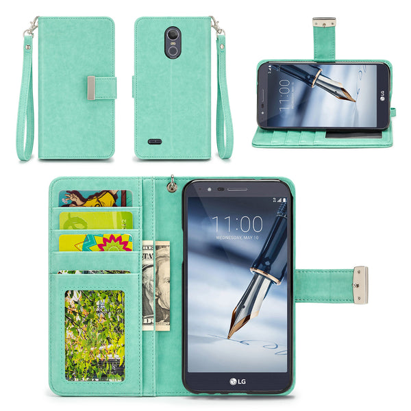 LG Stylo 3 Plus / LG Stylo 3 Wallet Phone Case Flip Cover