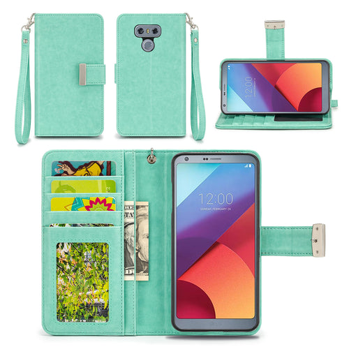 LG G6 Wallet Phone Case Flip Cover