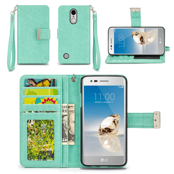LG Aristo / LG Phoenix 3 Wallet Phone Case Flip Cover