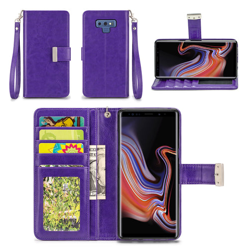 Samsung Galaxy Note 9 Wallet Phone Case Flip Cover