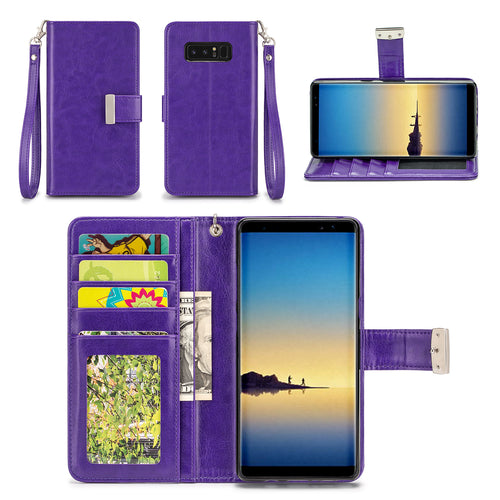 Samsung Galaxy Note 8 Wallet Phone Case Flip Cover