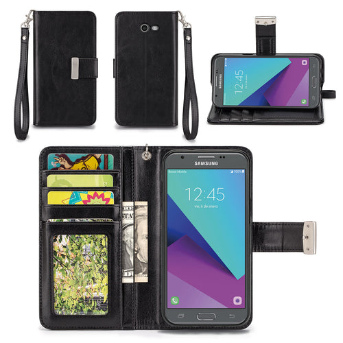 Samsung Galaxy Express Prime 2 Wallet Phone Case Flip Cover