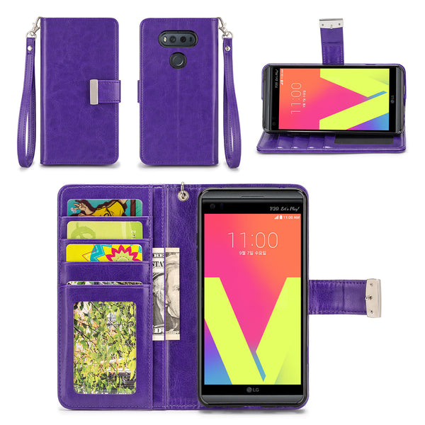 LG V20 Wallet Phone Case Flip Cover