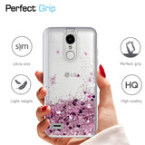 LG Rebel 3 LTE Waterfall Glitter Phone Case Cover